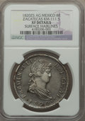 Mexico, Mexico: Zacatecas. Ferdinand VII 8 Reales 1820 Zs-AG XF Details(Surface Hairlines) NGC,...