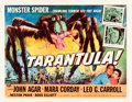 "Movie Posters:Science Fiction, Tarantula (Universal International, 1955). Half Sheet (22"" X 28"")Style A.. ..."
