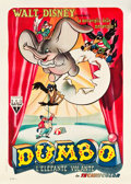 "Movie Posters:Animation, Dumbo (RKO, 1948). First Post-War Release Italian 2 - Foglio (39.5""X 55"").. ..."