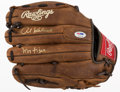 "Baseball Collectibles:Others, Al Kaline ""Mr. Tiger"" Signed Glove...."