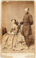 "Miscellaneous:Ephemera, George Armstrong Custer and Elizabeth ""Libbie"" Custer Carte deVisite...."