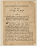 Miscellaneous:Ephemera, [Stamp Act of 1765]. Anno quinto Georgii III Regis. Chap.XII....