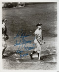 Baseball Collectibles:Photos, 1980 Roger Maris Signed Photograph. ...