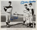 Baseball Collectibles:Photos, 1980's Roger Maris & Mickey Mantle Signed Photograph. ...