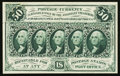 Fractional Currency:First Issue, Fr. 1313SP 50¢ First Issue Narrow Margin Face About New.. ...