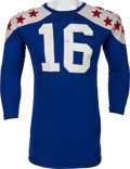 Football Collectibles:Uniforms, 1964 Paul Krause Game Worn College All Stars Jersey....