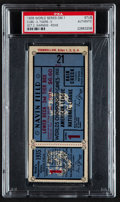 Baseball Collectibles:Tickets, 1935 World Series Game 1 Ticket Stub, PSA Authentic....