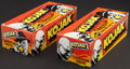 """Non-Sport Cards:Unopened Packs/Display Boxes, 1975 Holland """"Kojak"""" Unopened Boxes (2 Boxes)...."""