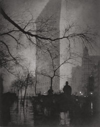 EDWARD STEICHEN (American, 1879-1973) The Flatiron, New York, 1905 Photogravure, printed by Jon Good