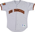 Baseball Collectibles:Uniforms, 1994 Willie McGee Game Worn San Francisco Giants Jersey. ...