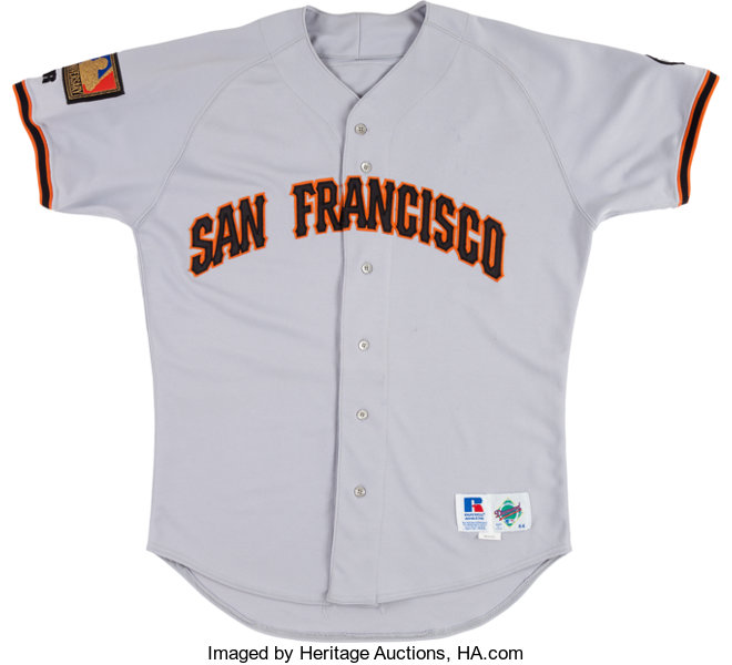 timeless design 5b94a 52d77 1994 Willie McGee Game Worn San Francisco Giants Jersey ...