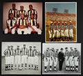 Football Collectibles:Photos, Mid 1970's World Football League Referees Multi Signed Photograph and More....