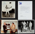 Football Collectibles:Photos, 1970's Lou Saban Collection Including Ralph Wilson Signed Letter& Whitey Ford Signed Photo to Saban. ...
