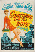 """Movie Posters:Musical, Something for the Boys (20th Century Fox, 1944). One Sheet (27"""" X41""""). Musical.. ..."""