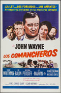 "Movie Posters:Western, The Comancheros & Other Lot (20th Century Fox, 1961). Spanish Language One Sheets (2) (27"" X 41""). Western.. ... (Total: 2 Items)"