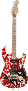 Musical Instruments:Electric Guitars, 2000's Fender/Charvel Custom Shop EVH Frankenstrat Solid BodyElectric Guitar, Serial # 61071....