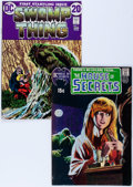 Bronze Age (1970-1979):Horror, Swamp Thing-Related Group (DC, 1971-72).... (Total: 2 Comic Books)