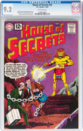 Silver Age (1956-1969):Horror, House of Secrets #52 (DC, 1962) CGC NM- 9.2 Off-white pages....