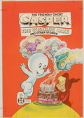 Original Comic Art:Covers, Warren Kremer (attributed) Casper: The Wishing Cake and OtherStories Cover and Color Guide Original Art (Harvey/T...