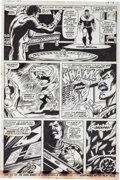 Original Comic Art:Panel Pages, George Tuska and Billy Graham Hero for Hire #11 Page 14Original Art (Marvel, 1972)....