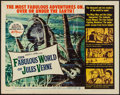 """Movie Posters:Fantasy, The Fabulous World of Jules Verne (Warner Brothers, 1961). HalfSheet (22"""" X 28""""). Fantasy.. ..."""