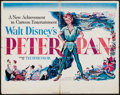 "Movie Posters:Animation, Peter Pan (RKO, 1953). Half Sheet (22"" X 28"") Style A. Animation.. ..."