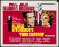 """Movie Posters:Hitchcock, Torn Curtain (Universal, 1966). Half Sheet (22"""" X 28""""). Hitchcock.. ..."""