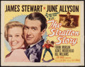 """Movie Posters:Sports, The Stratton Story (MGM, 1949). Half Sheet (22"""" X 28"""") Style A. Sports.. ..."""