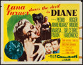 "Movie Posters:Drama, Diane (MGM, 1956). Half Sheet (22"" X 28"") Style A. Drama.. ..."