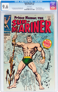 The Sub-Mariner #1 (Marvel, 1968) CGC NM+ 9.6 White pages