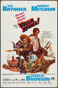 """Villa Rides! & Other Lot (Paramount, 1968). One Sheets (2) (27"""" X 41""""). Western. ... (Total: 2 Items)"""
