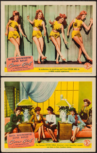"Cover Girl (Columbia, 1944). Lobby Cards (2) (11"" X 14""). Musical. ... (Total: 2 Items)"