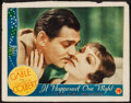 "Movie Posters:Academy Award Winners, It Happened One Night (Columbia, 1935). Lobby Card (11"" X 14"")Academy Award Style.. ..."