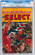Golden Age (1938-1955):Superhero, All Select Comics #10 (Timely, 1946) CGC VF/NM 9.0 Off-white to white pages....