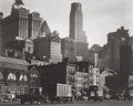 Photographs, BERENICE ABBOTT (American, 1898-1991). West Street, New York, 1938. Gelatin silver, printed 1979. 15-1/4 x 19-1/2 inches...