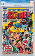 Bronze Age (1970-1979):Superhero, Sub-Mariner Annual #1 Twin Cities pedigree (Marvel, 1971) CGC NM/MT9.8 White pages....