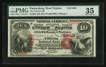 National Bank Notes:West Virginia, Parkersburg, WV - $10 1875 Fr. 420 The Citizens NB Ch. # 2649. ...