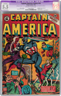 Golden Age (1938-1955):Superhero, Captain America Comics #16 (Timely, 1942) CGC Apparent FN- 5.5 Extensive (B-5) Off-white to white pages....