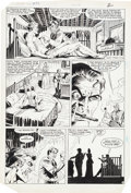 Original Comic Art:Panel Pages, Mark Texeira and Dennis Janke Jonah Hex #89 Page OriginalArt Group (DC, 1985).... (Total: 5 Original Art)