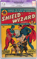 Golden Age (1938-1955):Superhero, Shield-Wizard Comics #1 (MLJ, 1940) CGC Apparent FN/VF 7.0 Moderate (C-3) Off-white to white pages....