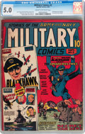 Golden Age (1938-1955):War, Military Comics #2 (Quality, 1941) CGC VG/FN 5.0 Cream to off-whitepages....