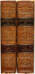 Books:Reference & Bibliography, Edward Lomax and Thomas Gunyon, editors. Encyclopedia ofArchitecture. London: Peter Jackson, [1852]. Later edition....(Total: 2 Items)