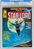 Magazines:Science-Fiction, Marvel Preview #4 Star-Lord (Marvel, 1976) CGC VF/NM 9.0 Cream tooff-white pages....