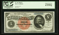 Large Size:Silver Certificates, Fr. 262 $5 1886 Silver Certificate PCGS Superb Gem New 67PPQ.. ...