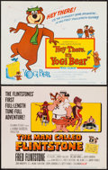 """Movie Posters:Animation, The Man Called Flintstone & Other Lot (Columbia, 1966). Title Lobby Cards (2) (11"""" X 14""""). Animation.. ... (Total: 2 Items)"""
