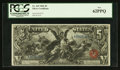 Large Size:Silver Certificates, Fr. 269 $5 1896 Silver Certificate PCGS New 62PPQ.. ...