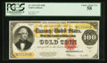 Large Size:Gold Certificates, Fr. 1215 $100 1922 Gold Certificate PCGS Choice About New 58.. ...