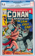 Bronze Age (1970-1979):Adventure, Conan the Barbarian #3 Don/Maggie Thompson Collection pedigree (Marvel, 1971) CGC NM+ 9.6 White pages....