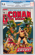 Bronze Age (1970-1979):Adventure, Conan the Barbarian #8 Don/Maggie Thompson Collection pedigree (Marvel, 1971) CGC NM+ 9.6 White pages....