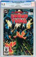 Modern Age (1980-Present):Superhero, Saga of the Swamp Thing #20 Don/Maggie Thompson Collection pedigree(DC, 1984) CGC NM/MT 9.8 White pages....